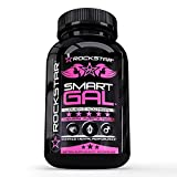 Rockstar Smart Gal – Extra Strength Brain Supplement for Clarity, Focus, Memory- Mental Performance Nootropic with Ginkgo Biloba – Scientifically Formulated for Optimal Performance For Sale