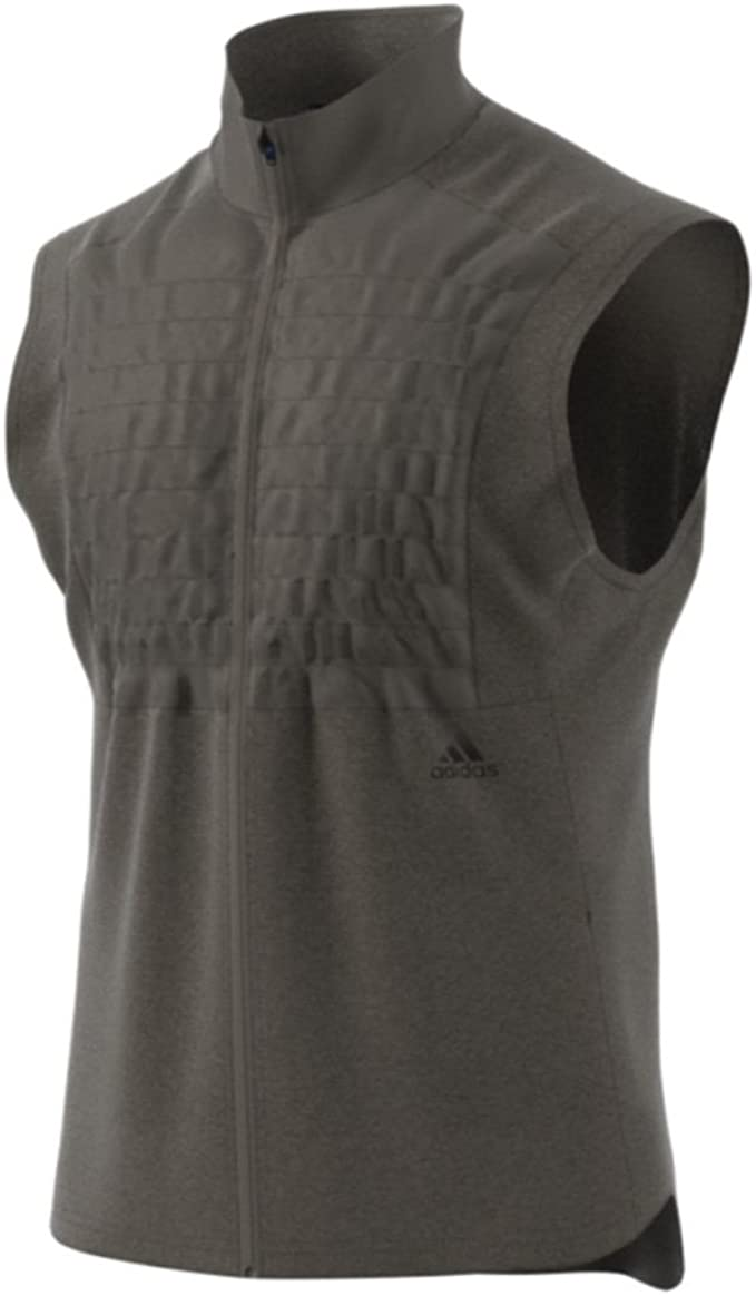 Depresión fluir A rayas  Amazon.com: adidas Men's Running Ultra Rugby Vest: Clothing