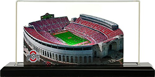 Ohio State Buckeyes Ohio Stadium, Small Lighted in Display Case