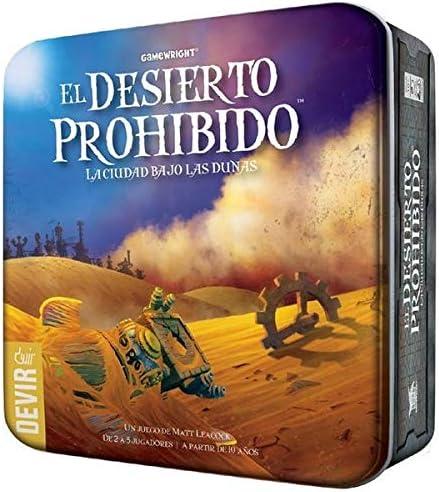 Devir - El Desierto Prohibido, Juego de Mesa (BGDESI): Amazon.es ...