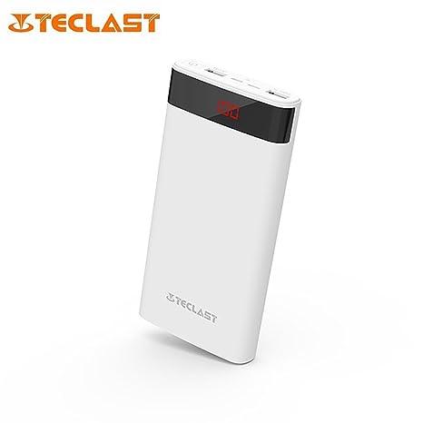 Portátil 10000 mAh, Power Bank Teclast t100uf interfaces de entrada dual carga Powerbank para teléfonos