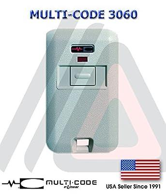 Multi-Code 3060 Remote Garage Door Mini Transmitter Multi-Code