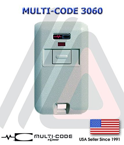 Multi-Code 3060 Remote Garage Door Mini Transmitter Multi-Code