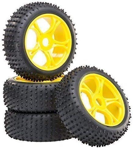 Buggyreifen 1:10 Räder+Reifen fahrfertig verklebt NEU 4 Stck