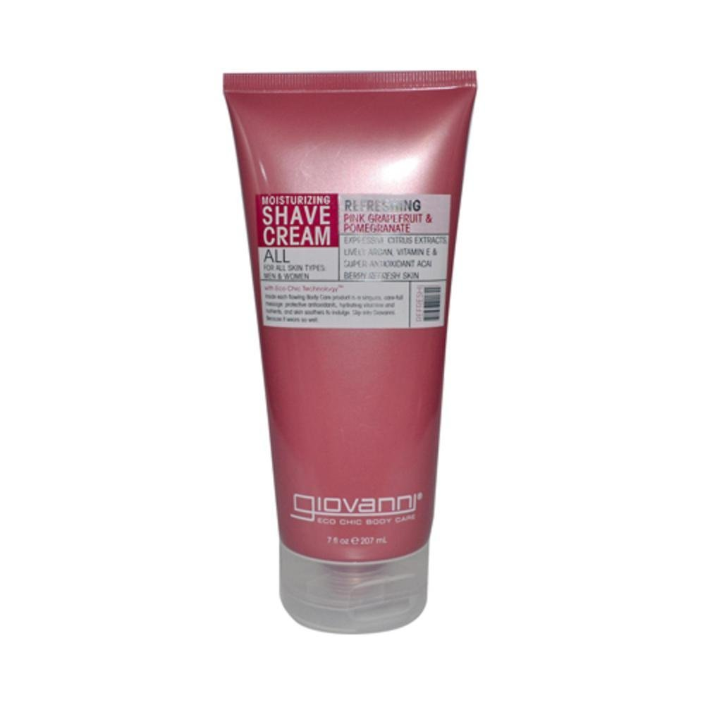 Giovanni Pink Grapefruit and Pomegranate Shave Cream, 7 Ounce - 1 Each. 716237183231