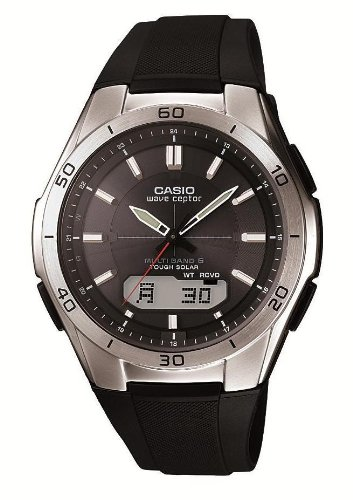 Casio Men's WVA-M640-1AJF Wave Ceptor Tough Solar Analog / Digital Watch [Japan Import] (Watch Wave Solar Ceptor Tough)