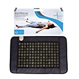 "Back Rescue Far Infrared Heating Pad| Non EMF System| FDA| 1 Year warrenty| Fast Pain Relief| 135 Jade Stones 21' X 32"" Covers Full Back 