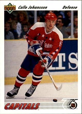 Amazon.com  1991 Upper Deck Hockey Card (1991-92)  316 Calle Johansson Near  Mint Mint  Collectibles   Fine Art 39055e64265a