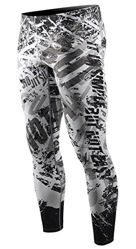 62016278cb Galleon - Zipravs Men's Cool Dry Compression Leggings Workout Long Tight  Pants(S~3XL)