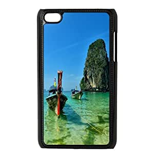 Ipod Touch 4 Ship Phone Back Case Personalized Art Print Design Hard Shell Protection LK084202