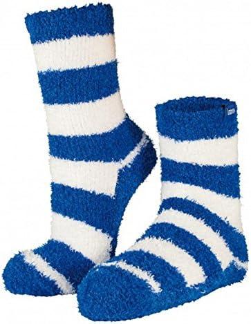 Socken One Size HBSC Fanartikel Hertha BSC Berlin Kuschelsocke