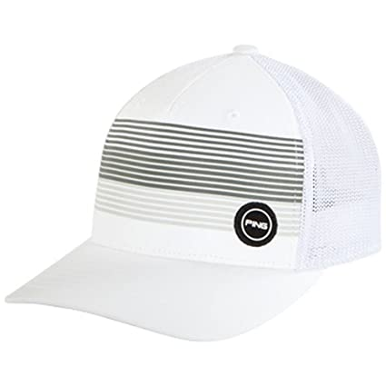 a12da29f5d1 Image Unavailable. Image not available for. Color  Ping FITTED SPORT MESH  HAT ...