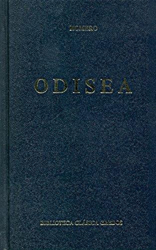 Odisea (B. BÁSICA GREDOS) Tapa dura – 1 nov 2005 Homero 8424903021 Ancient & Classical Epic