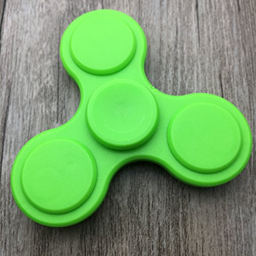 Hand Spinner Guarantee 2 Mins+ Spin Time Quiet and Smooth Fidget Spinner Toy Stress Reducer Good for ADHD EDC Hand Killing Time(Upgrades-Green)