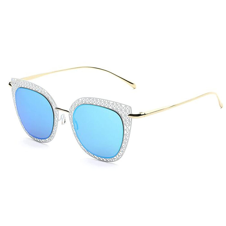 G.T.B 2016 New Retro Cat Eye Sunglasses Female Hollow Metal Design High Grade Glasses