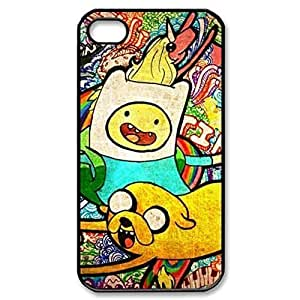 Pink Ladoo? Finn And Jake Adventure Time Hard Cover Case for iPhone 5 5s case -black CASE