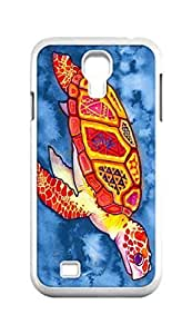 Cool Painting sea turtle Snap-on Hard Back Case Cover Shell for Samsung GALAXY S4 I9500 I9502 I9508 I959 -1235