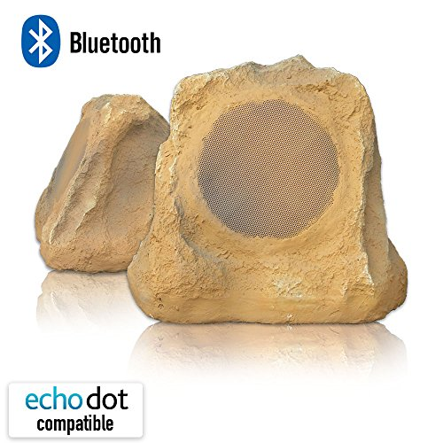 Bluetooth Outdoor Rock Speaker (canyon sandstone) - stereo pair by Sound Appeal by Sound Appeal