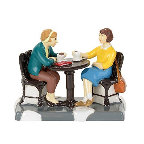 Department 56 Snow Village Coffee Station Catch Up Accessory Figurine, 2.13 inch (Accessory 56 Village Snow)