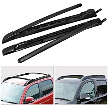 Kayak Roof Rack For Cars Without Rails >> Amazon.com: Maxiii Cross Bars Roof Rack for Toyota Tacoma 2005-2018, Aluminium Roof Rack Rails ...