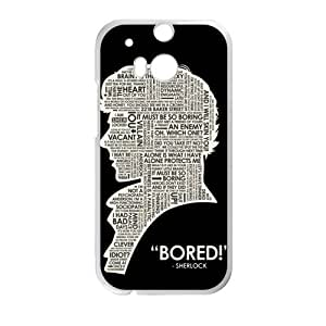 Bored man Cell Phone Case for HTC One M8