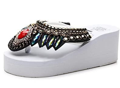 FORTUN Summer Sandals Ladies Casual Shoes Comfortable Sneakers Walking Shoes