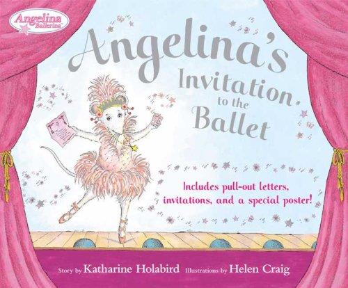 Angelinas Invitation to the Ballet Angelina Ballerina – Angelina Ballerina Birthday Invitations