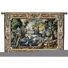 "Fine Art Tapestries ""15th Century Landscape Wool and Cotton"" Wall Tapestry"