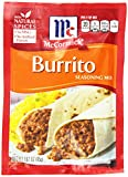 McCormick Burrito Seasoning Mix, 1.62 oz, Never Buy Another Frozen Burrito, Turn Ordinary Ingredients into The Best Homemade Burritos for the Whole Family, Perfect With Meat, Turkey, Beans, and More