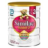 Isomil | Etapa 2, Fórmula Infantil a Base de Proteína de Soya, para Niños de 1 a 3 Años | 850g