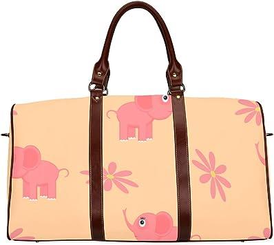 Cute Elephant Womens Weekender Duffel Bag