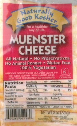 Kosher Sliced Meunster