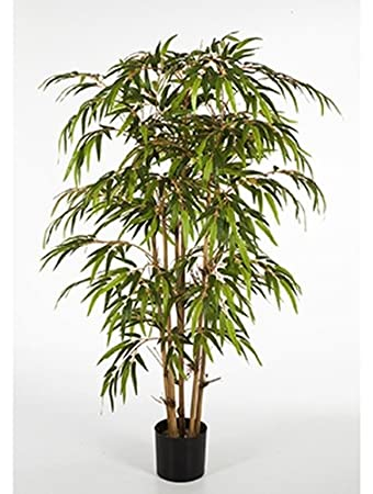 Bambus 180 Cm Grosse Kunstpflanze Hochwertig Bamboo Deko Pflanze