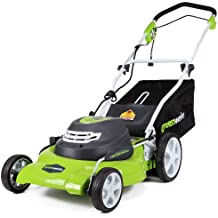 Buy Greenworks 20-Inch 12 Amp Corded Self Propelled Lawn Mower