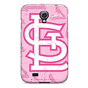 New Style GScases Hard Case Cover For Galaxy S4- St. Louis Cardinals
