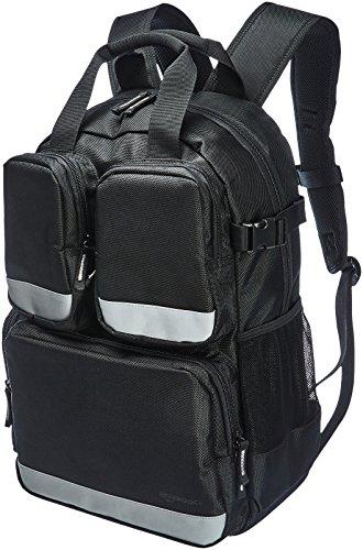 AmazonBasics 23 Pocket Tool Bag Backpack With 3 Pocket Front