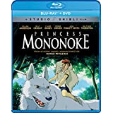 Princess Mononoke [Blu-ray + DVD] (Sous-titres français)