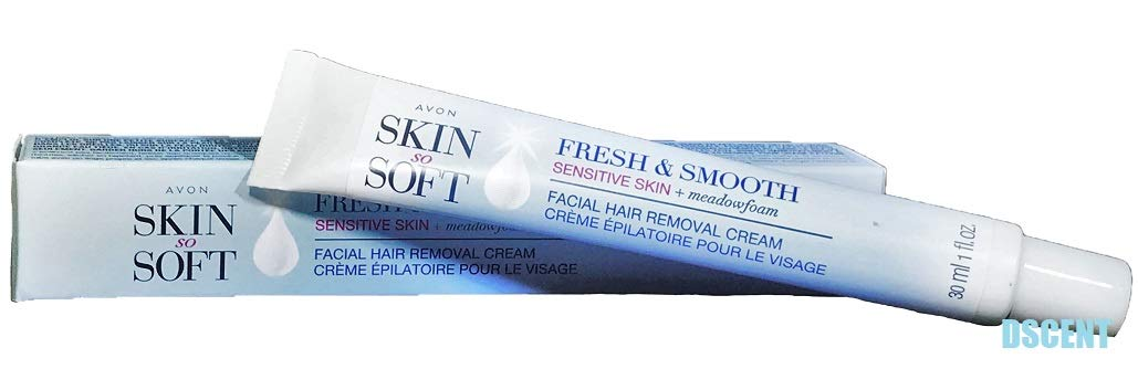 Avon SSS Fresh and Smooth Facial Hair Removal Cream 1 Ounce - Sensitive Skin