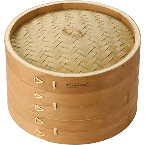 "Bamboo 10"" Double Tier Steamer"