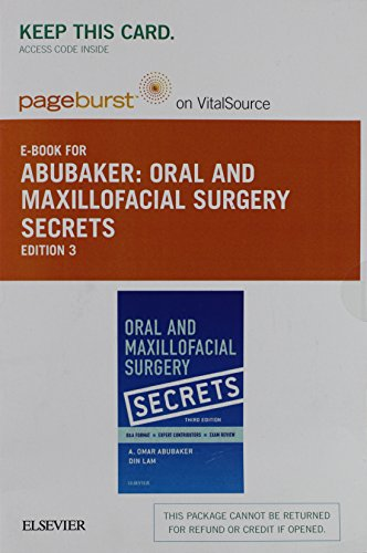 Oral and Maxillofacial Surgery Secrets - Elsevier eBook on VitalSource (Retail Access Card), 3e