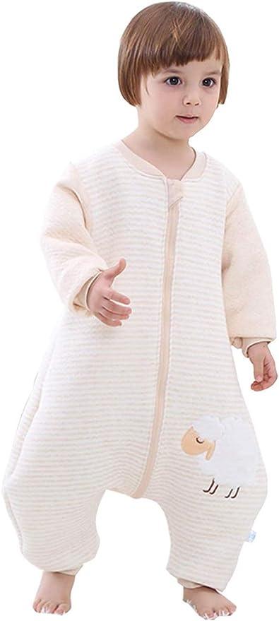 Emmala Babyfat Saco De Dormir para Casual Chic Bebé con Pies Pijama Abrigo Swaddle Manta para Niñas Niños Recién Nacido Unisex Algodón Orgánico Tejido Otoño Primavera Invierno Verde Etiqueta 90: Amazon.es: Hogar