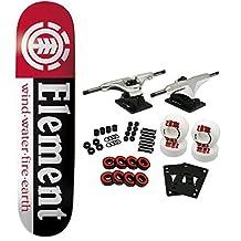 "Element Thriftwood Section Black Complete Skateboard - 7.5"" x 31.5"""