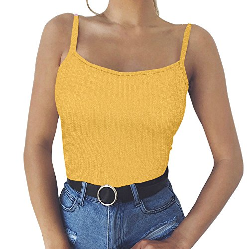 FORUU 2019 Surprise Best Gift For Girlfriend Lover Wife Party Under 5 Free delivery Fashion Womens Sexy Tank Top Vest Off Shoulder Halter Blouse ()