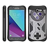 TurtleArmor | Compatible for Samsung Galaxy J3 Emerge Case | J3 (2017) [Compact Shield] Hybrid Dual Layer Hard Shell Kickstand Combat Fitted Case – Classic Game Controller Review
