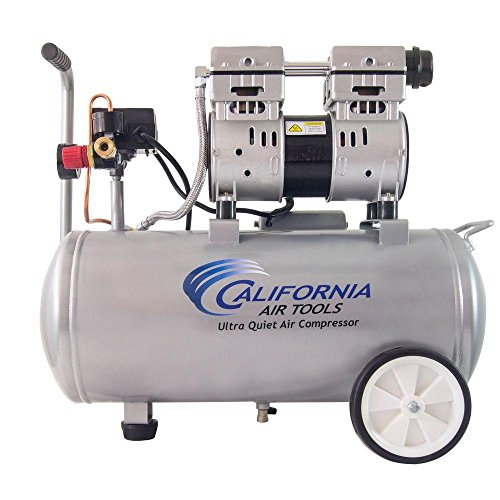 California Air Tools 8.0 Gal. 1.0 HP Ultra Quiet and Oil-Free Electric Air Compressor