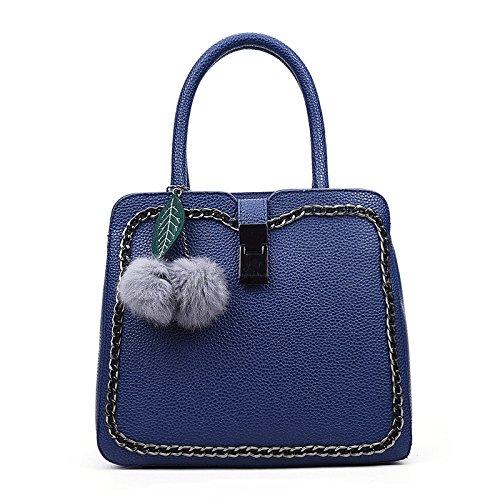 Pendentif Exquis Qualité Poche Bandoulière Grande Bleu Zm À Sac Diagonale Femme La Exquisite De De gFvEEwx5