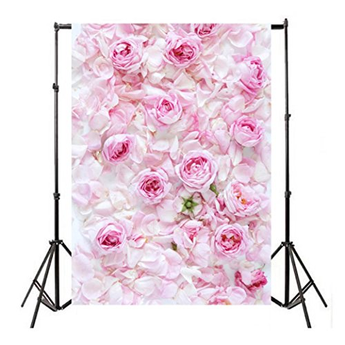 YJYdada Vinyl Wood Wall Floor Photography Studio Prop Backdrop Background 3x5FT/90X150cm (E)