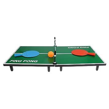 B Baosity Mini Table Tennis Juego De Mesa De Ping Pong Juguete De