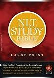 NLT Study Bible, Large Print
