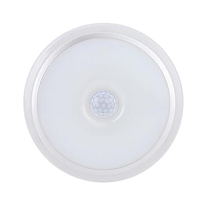 Bombilla LED Sensor de movimiento bombilla, E27 12W PIR LED infrarrojo Lámpara de bombilla nocturna